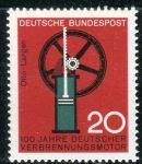(1964) MiNr. 442 ** - Německo - Pokrok v technologii a vědě (I): 100 let spalovací motor