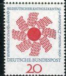 (1964) MiNr. 444 ** - Německo - Německý katolický den, Stuttgart