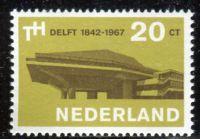 (1967) MiNr. 871 ** - Nizozemsko - 125 let Technická univerzita v Delftu