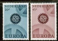 (1967) MiNr. 878 - 879 ** - Nizozemsko - Europa