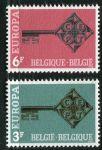 (1968) MiNr. 1511 - 1512 ** - Belgie - EUROPA