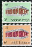 (1969) MiNr. 1546 - 1547 ** - Belgie - EUROPA
