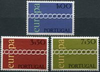 (1971) MiNr. 1127 - 1129 ** - Portugalsko - emise EUROPA - Cept