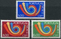 (1973) MiNr. 1199 - 1201 ** - Portugalsko - emise EUROPA - Cept