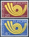 (1973) MiNr. 994 - 995 ** - Švýcarsko - Europa 1973