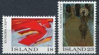 (1975) MiNr. 502 - 503 ** - Island - EUROPA - C.E.P.T. 1975