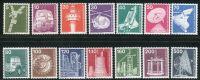 (1975) MiNr. 846 - 859 ** - Německo - Průmysl a technologie (I)