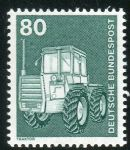 (1975) MiNr. 853 ** - Německo - Průmysl a technologie (I) - traktor