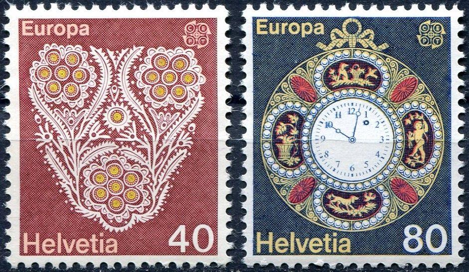 (1976) MiNr. 1073 - 1974 ** - Švýcarsko - Europa 1976