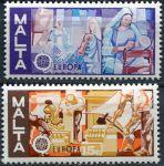 (1976) MiNr. 532 - 533 ** - Malta - EUROPA