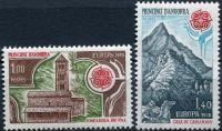 (1978) č. 290 - 291 ** - Andora (Fr.) - EUROPA - C.E.P.T.