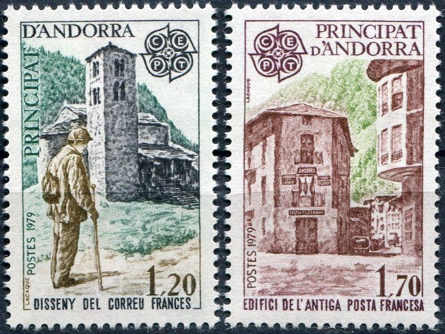 (1979) č. 297 - 298 ** - Andora (Fr.) - EUROPA - C.E.P.T.