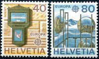 (1979) MiNr. 1154 - 1155 ** - Švýcarsko - Europa 1979