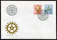 (1983) MiNr. 1249-1250 - FDC - Švýcarsko - emise EUROPA (C.E.P.T.)