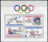 (1984) A 2667 ** - Československo - Sport - olympijské hnutí