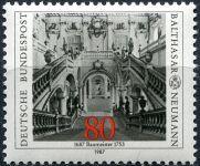 (1987) MiNr. 1307 ** - Německo -  Balthasar Neumann