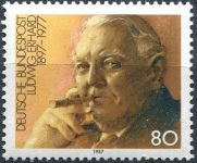 (1987) MiNr. 1308 ** - Německo - Dr. L. Erhard (1897-1977)