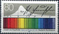 (1987) MiNr. 1313 ** - Německo - Josef von Fraunhofer (1787-1826)