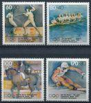 (1992) MiNr. 1592 - 1595 ** - Německo - OH Albertvile a Barcelona