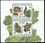 (1996) č. 110-113 ** - 4-bl - ČR - Ochrana přírody