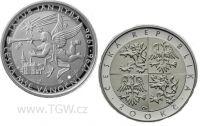 (1996) Stříbrná mince 200 Kč (b.k.) - Jakub Jan Ryba
