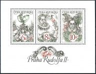(1997) A 146 - 148 ** - ČR - Praha Rudolfa II. (bez DV)