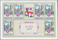 (1998) PL 197 ** (opr. deska) - 12,60 Kč - Česká republika - 80. výročí ČSR
