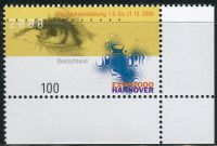 (2000) MiNr. 2089 ** - Německo - Světová výstava EXPO 2000, Hannover