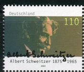 (2000) MiNr. 2090 ** - Německo - 125. narozeniny Dr Albert Schweitzer