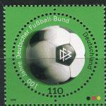 (2000) MiNr. 2091 ** - Německo - 100 let Německá fotbalová asociace (DFB)