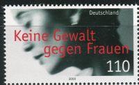 (2000) MiNr. 2093 ** - Německo - Žádné násilí na ženách