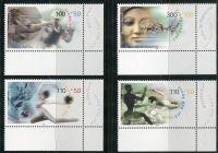 (2000) MiNr. 2094 - 2097 ** - Německo - Sportovní pomoc: Sport a mír