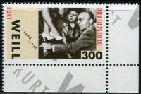 (2000) MiNr. 2100 ** - Německo - 100. narozeniny Kurt Weill
