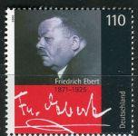(2000) MiNr. 2101 ** - Německo - 75. výročí úmrtí Friedricha Eberta