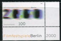(2000) MiNr. 2102 ** - Německo - 50. Mezinárodní filmový festival, Berlín