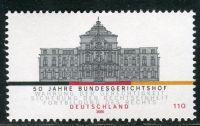 (2000) MiNr. 2137 ** - Německo - 50 let Federální soudní dvůr