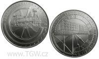 (2008) Stříbrná mince 200 Kč (b.k.) - Národní technické muzeum