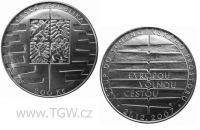 (2008) Stříbrná mince 200 Kč (b.k.) - Vstup do schengenského prostoru
