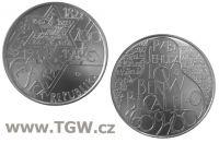 (2009) Stříbrná mince 200 Kč (b.k.) - Rabi Jehuda Löw ben Becalel