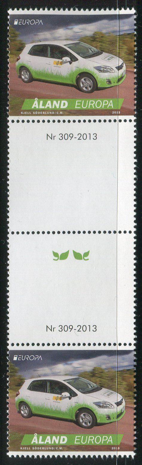 (2013) MiNr. 376 ** - Aland - Europa 2013 - (1 + K + K + 1)