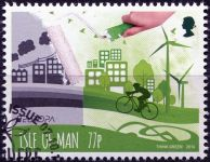 (2016) MiNr. 2205 - O - Isle of Man - EUROPA Think green