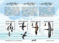 (2017) MiNr. 2508 - 2511 ** - Finsko - BLOCK 93 - Stěhovaví ptáci Arktidy