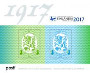 (2017) MiNr. 2517 - 2518 ** - Finsko - BLOCK 94 - 100. výročí vydání razítka