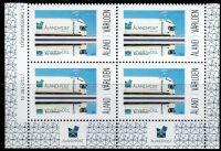 (2017) MiNr. 436 ** - Aland - 4-bl - poštovní nákladní auto