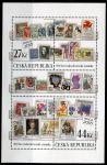 (2018) A 982 - 983 ** - Česká republika - 100 let československé poštovní známky