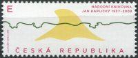 """(2018) č. 975 ** - Česká republika - Český design """"E""""  Jan Kaplický"""