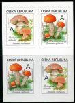 (2018) č. 984 - 985 ** - 4-bl - Česká republika - Jedlé houby - muchomůrka/křemenáč