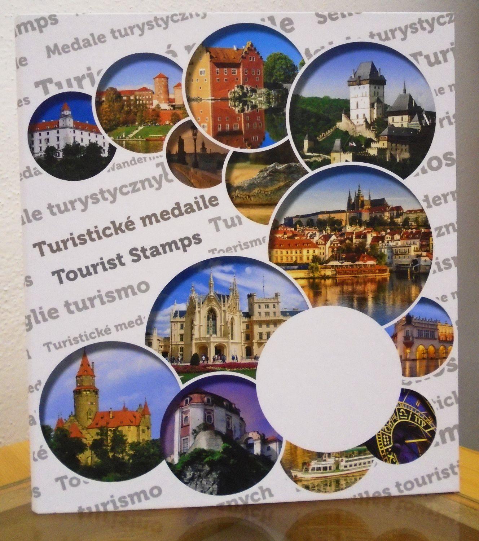 MAC album na 100 ks turistických medailí (mincí)