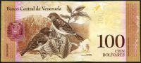 Venezuela (P 93j) - 100 bolivares (23.5.2015) - UNC