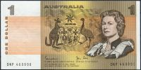 Austrálie - (P 42d) - 1 Australský dollar (1982) - UNC